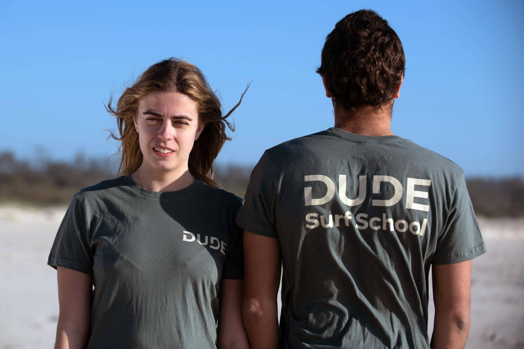 T-shirt Dude – Grey