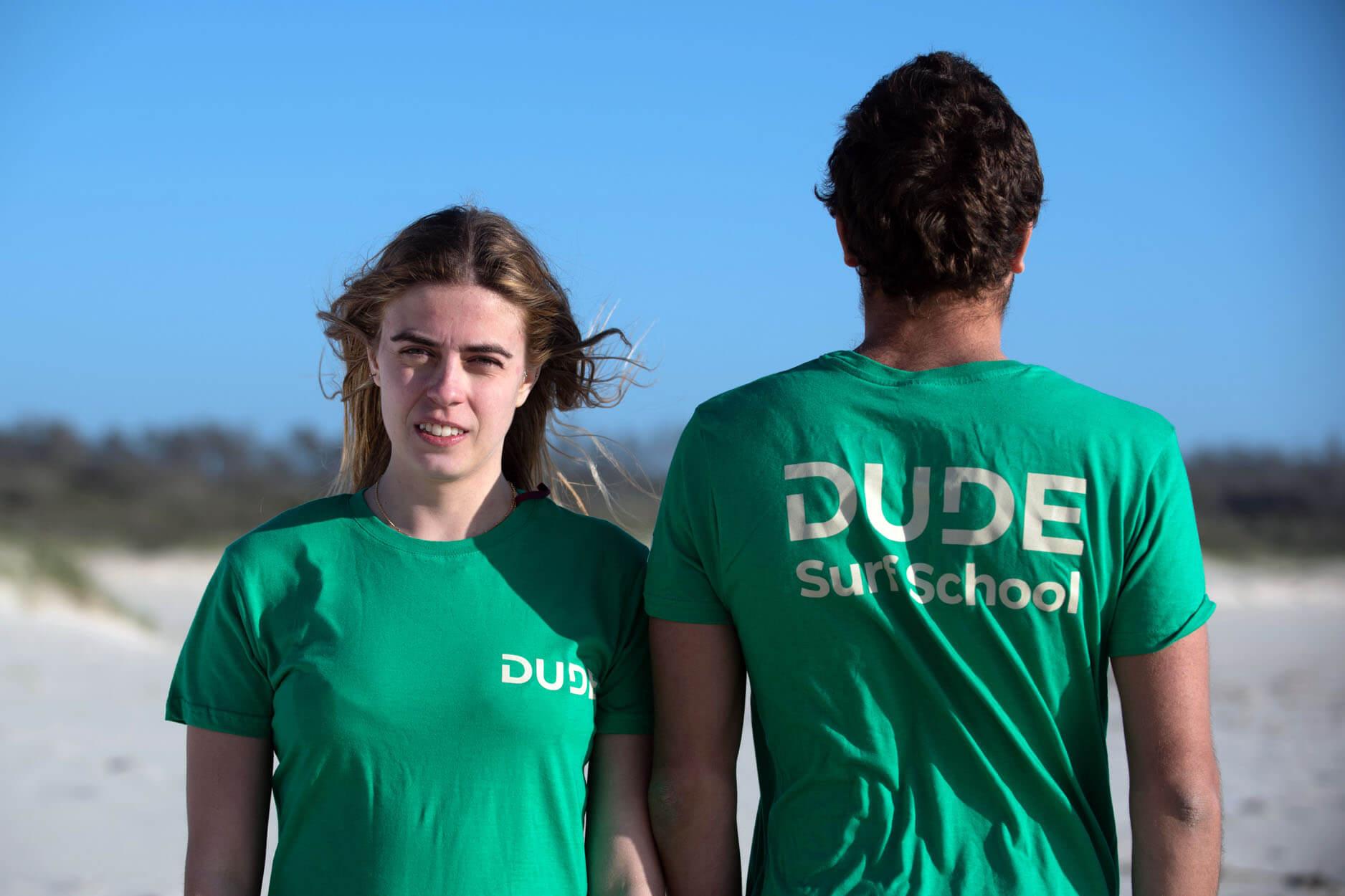 T-shirt Dude – Light Green