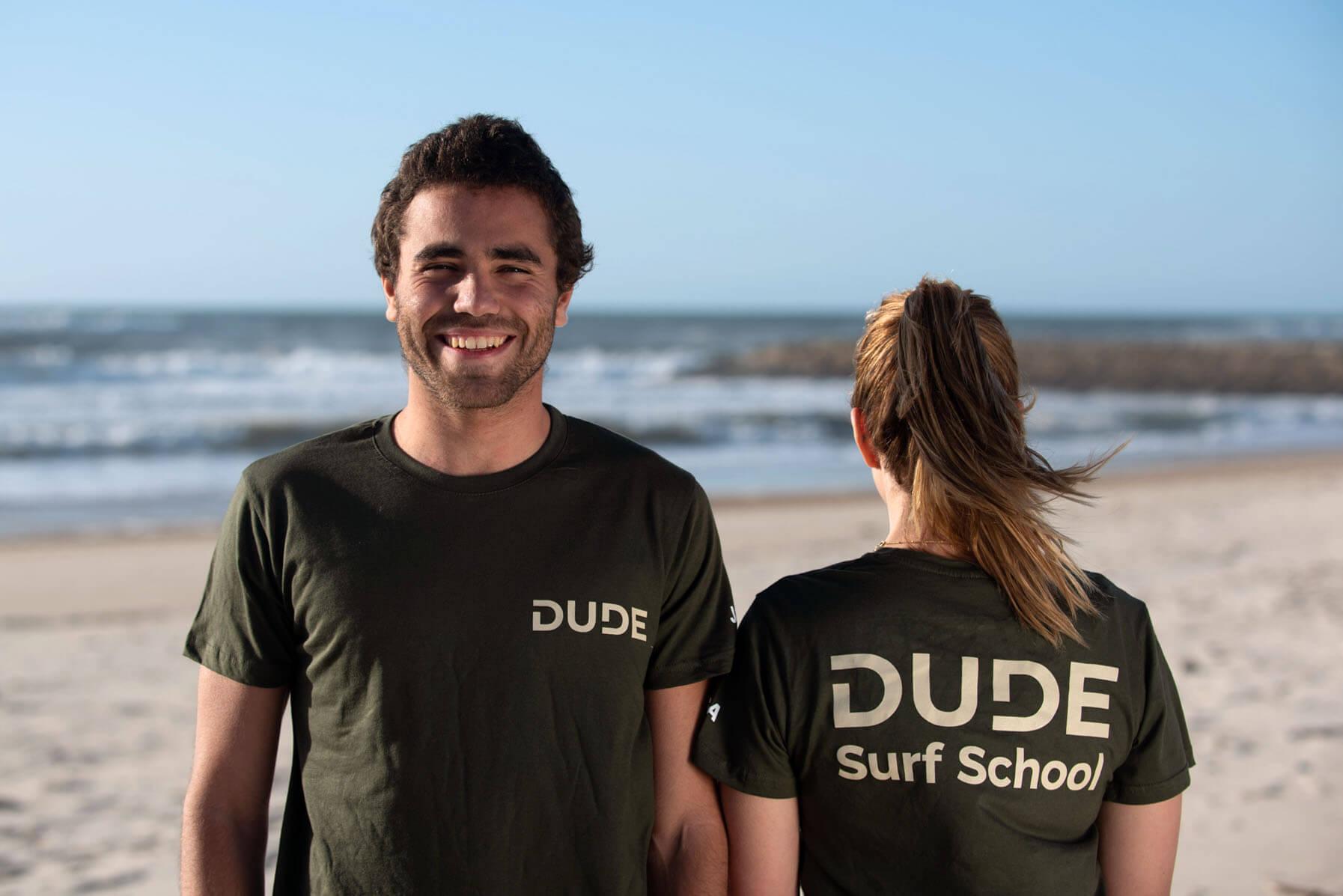 T-shirt Dude – Dark Green