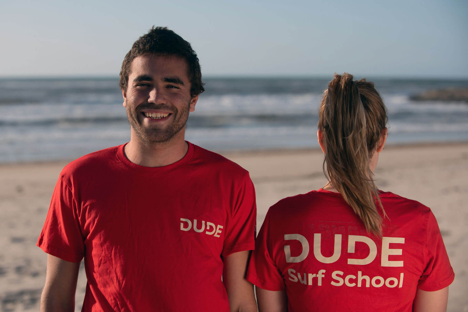 T-shirt Dude – Red