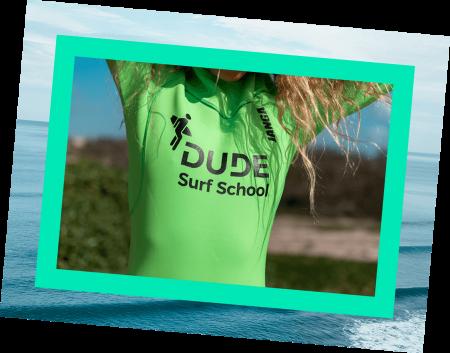Fato de Surf da Escola Dude